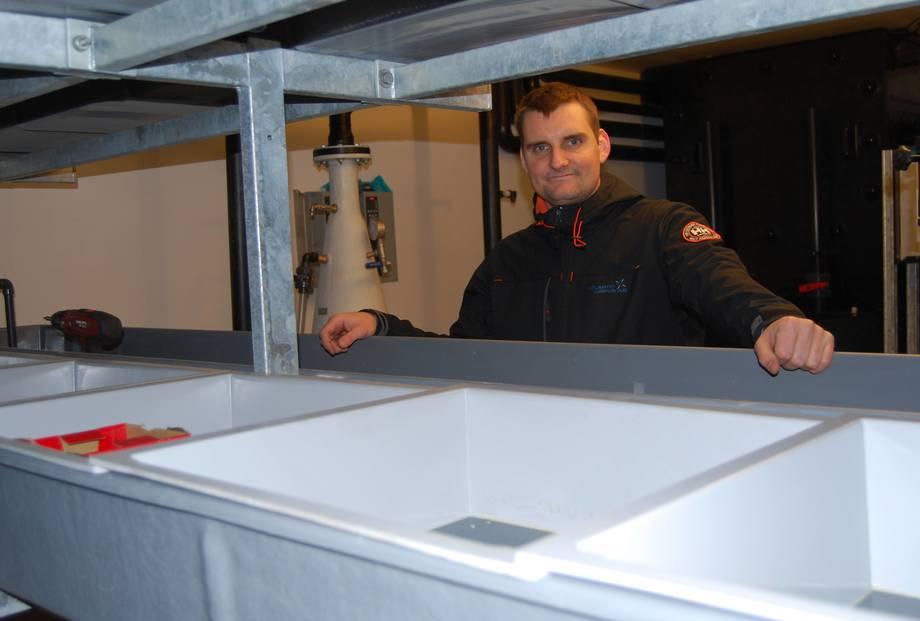 Dan Kristian Larssen, daglig leder i Atlantic Lumpus. Foto: Kenneth Didriksen