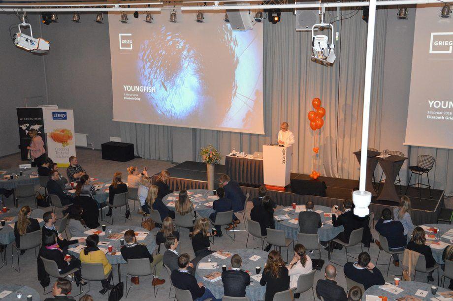 YoungFish fyller i år fem år, og skal feire dette med å vise frem sine flinke medlemmer i årets konferanseprogram. Foto: YoungFish.