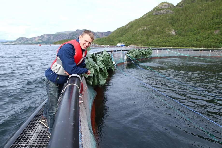 Daglig leder Lars Berg-Hansen fra Norse Aqua har satset på rensefisk produkter til næringen, noe som har gitt han gode resultat for 2015. Foto: Norseaqua.