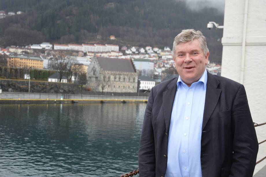 Einar Wathne, tidligere direktør i Cargill Aqua Nutrition/EWOS er nå valgt inn i Bakkafrost sitt styret. Foto: Therese Soltveit