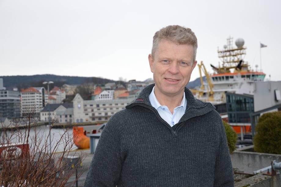 Cato Lyngøy, gründer av Hauge Aqua. Foto: Therese Soltveit.