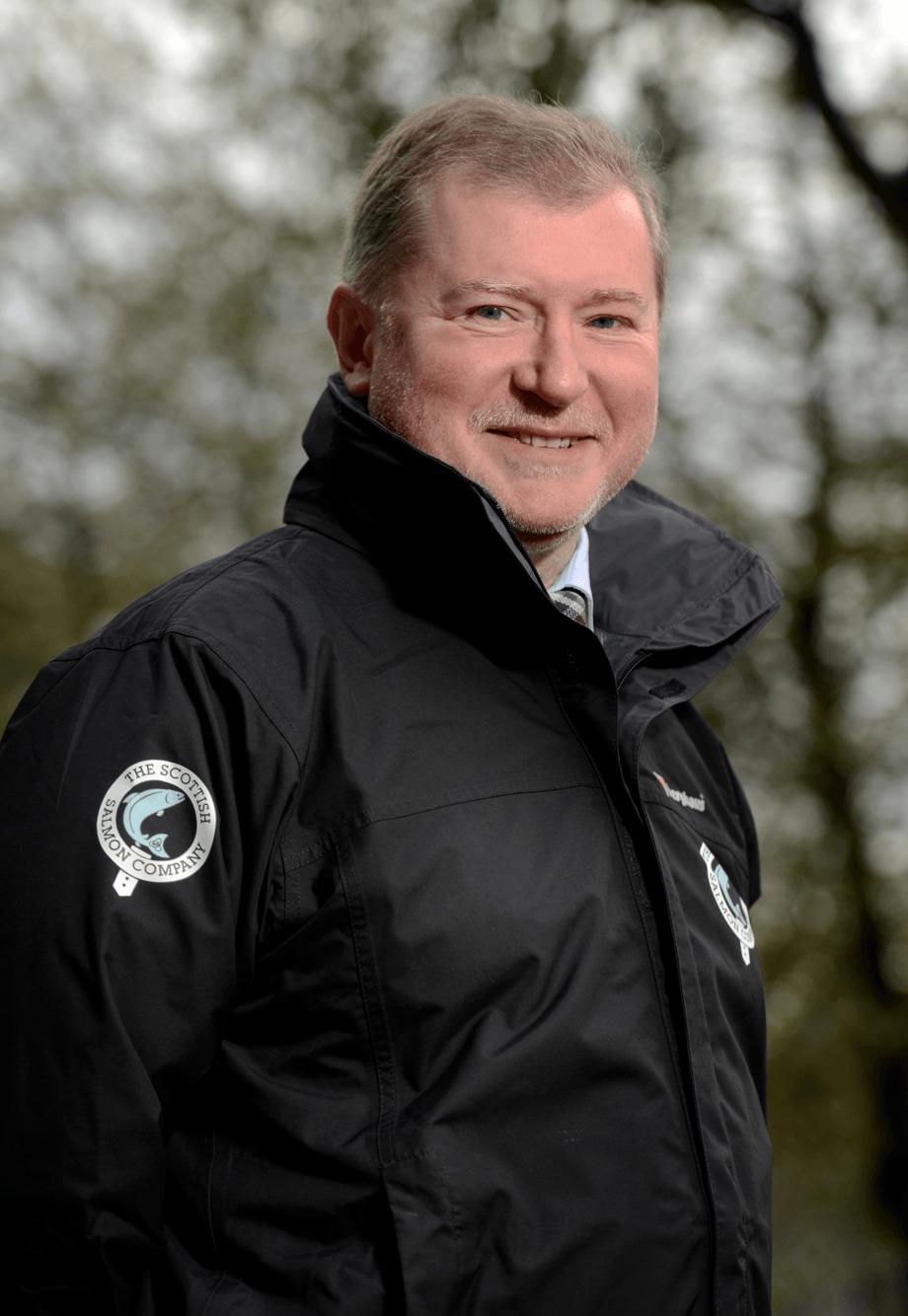 Craig Anderson er konsernsjef i Scottish Salmon Company.