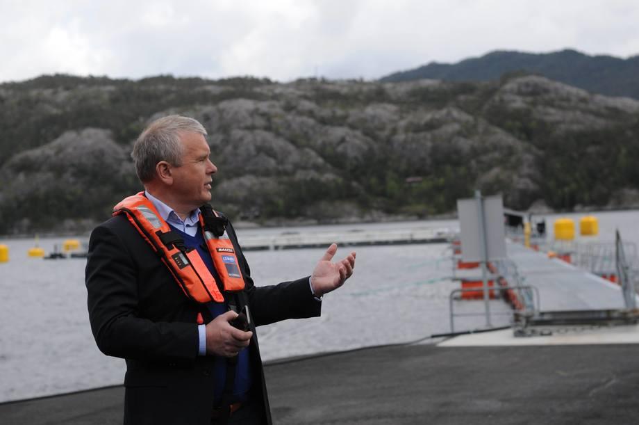 Willy Berglund er administrerende direktør i Sjøtroll. Foto: Pål Mugaas Jensen.