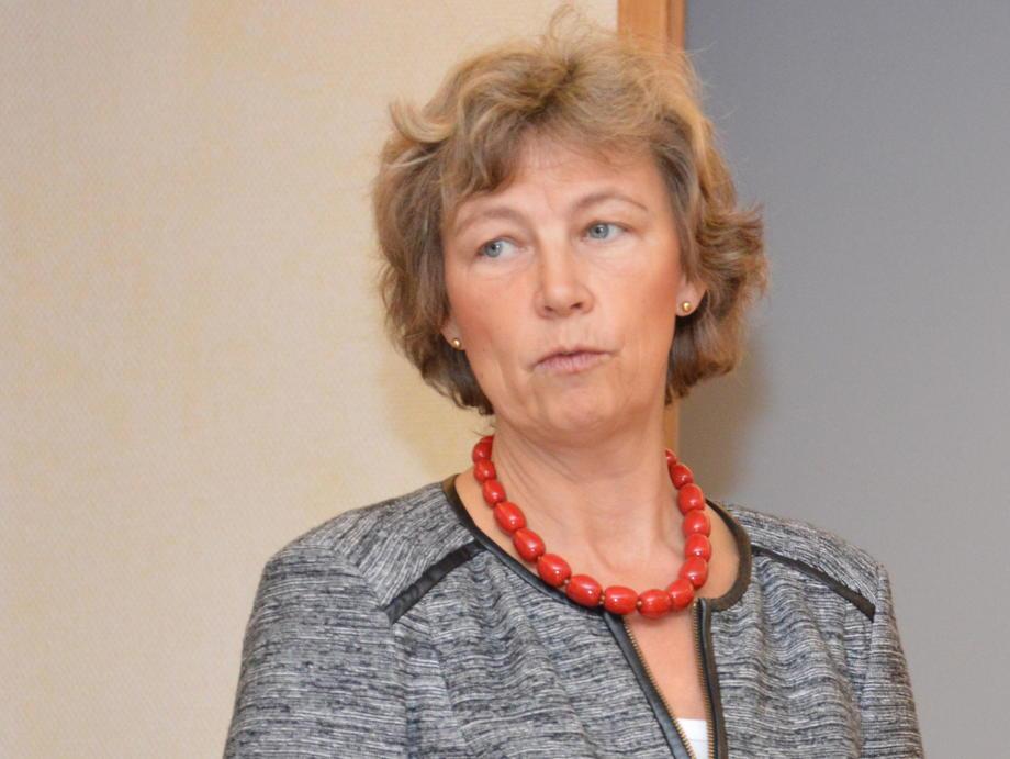Lise Bergan, directora de asuntos corporativos de Cermaq. Foto: Arkiv.