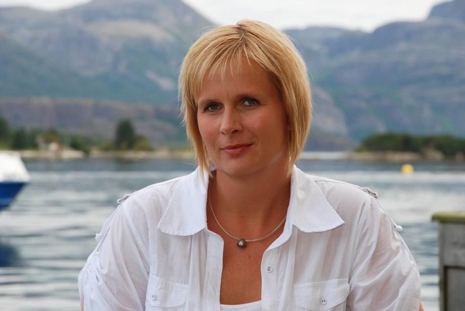 Aina Valland er direktør for næringsutvikling og samfunnskontakt i Sjømat Norge. Foto: Sjømat Norge/Are Kvistad.