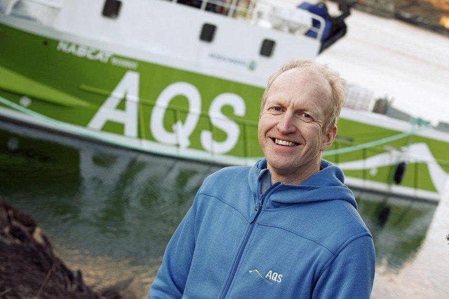 Daglig leder Ove Løfsnes. Foto: AQS.