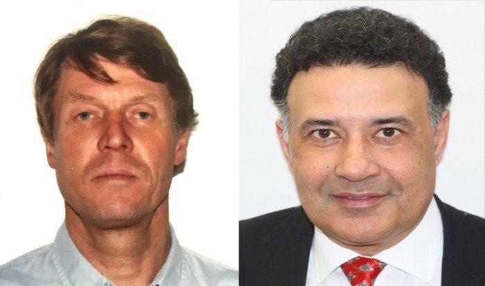 Trond Kostveit (54) og Yogi Shergill (54) skal finne nye markeder for norsk sjømat. Foto: Sjømatrådet.
