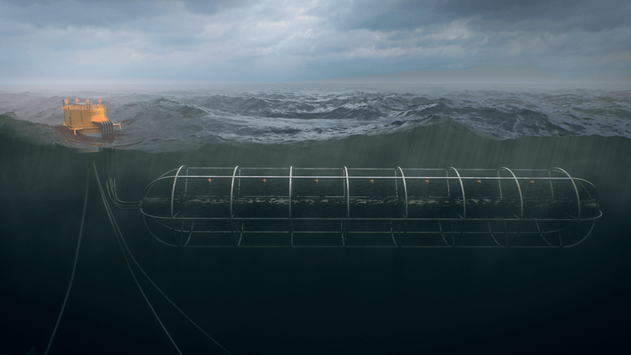 Marine Harvest sin nye offshore merd, Beck Cage. Illustrasjon: Marine Harvest