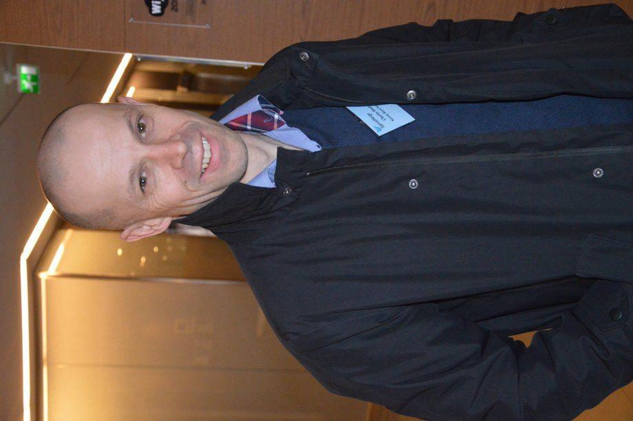 Charles Høstlund, konsernleder i NRS. Foto: Therese Soltveit.