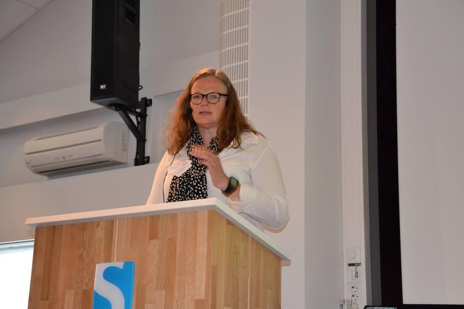 Anne Kjos Veim fra Fiskeridirektoratet under