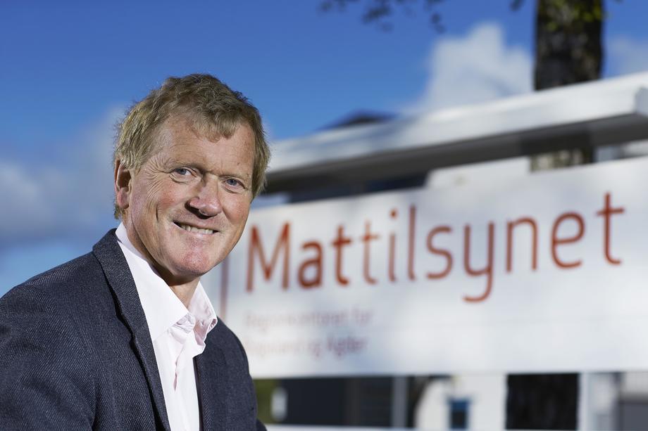 Hallgeir Herikstad, Regiondirektør for vest. Foto: Mattilsynet.