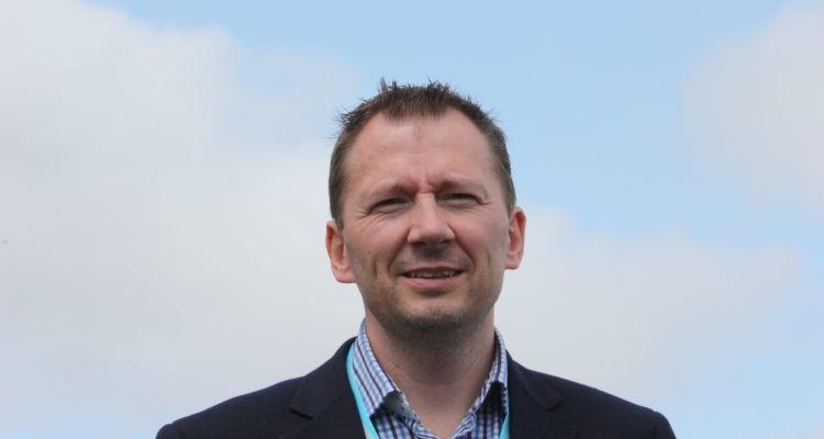Daglig leder i Stingray Marine Solutions, John Arne Breivik. Foto: Rob Fletcher.