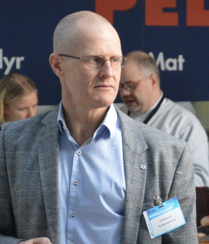 Erik Sterud, fagsjef i Norske Lakseelver. Foto: Øyvind Røen.