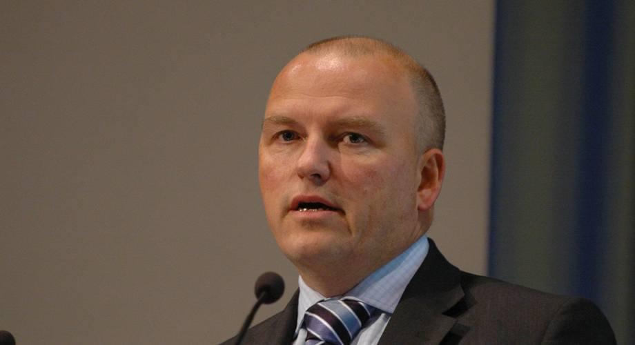Kolbjørn Giskeødegård er sjefanalytiker Nordea Markets. Foto: Pål Mugaas Jensen.
