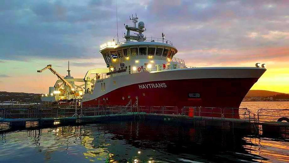 MS «Havtrans» er et av fartøyene til NTS. Foto: NTS