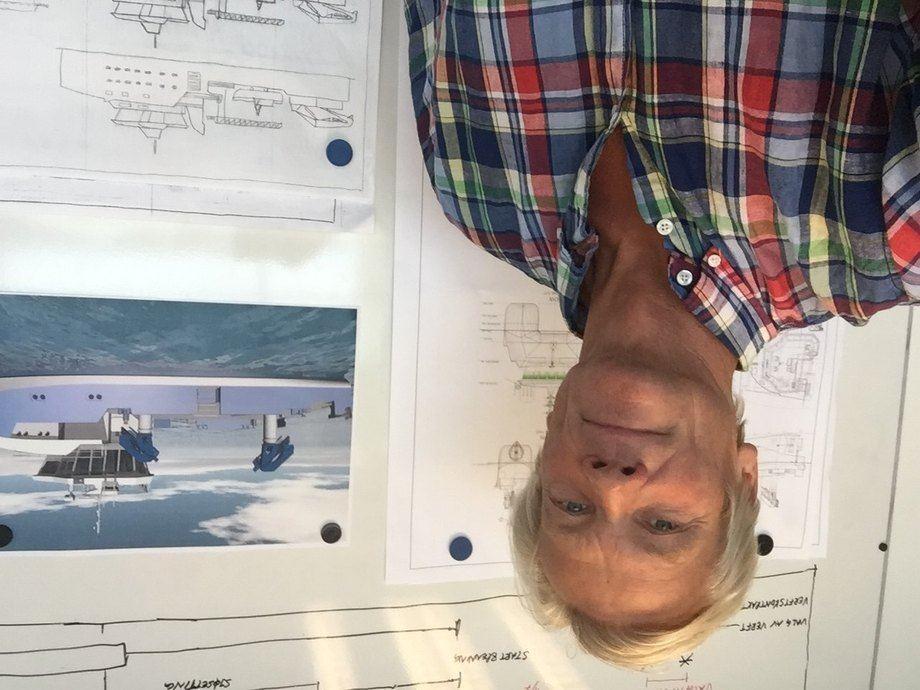 Svein Knudtzon Waagbø, daglig leder i Møre Maritime. Foto: Privat.