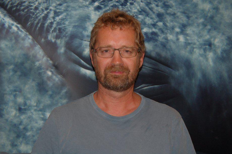 Forsker ved Havforskningsinstituttet Carsten Hvingel. Foto: Privat.