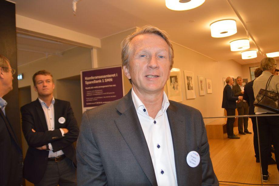 Styreformann og aksjonær i Sølvtrans, Anders Hvide mener at margin-bekymringen fra Marine Harvest er overdrevet. Foto: Gustav Erik Blaalid