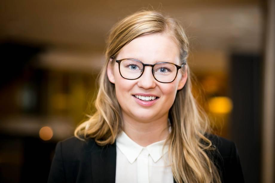 Cilia Holm, bærekraftsdirektør i Aker Biomarine. Foto: Aker Biomarine.