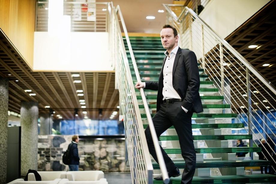 Geir Ove Ystmark mener at Norsk Industri ikke har fulgt med i timen. Foto: Sjømat Norge.