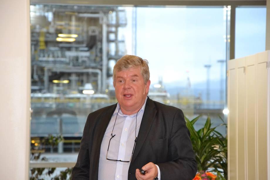 Einar Wathne er president i Cargill Aqua Nutrition. Foto: Magnus Petersen.