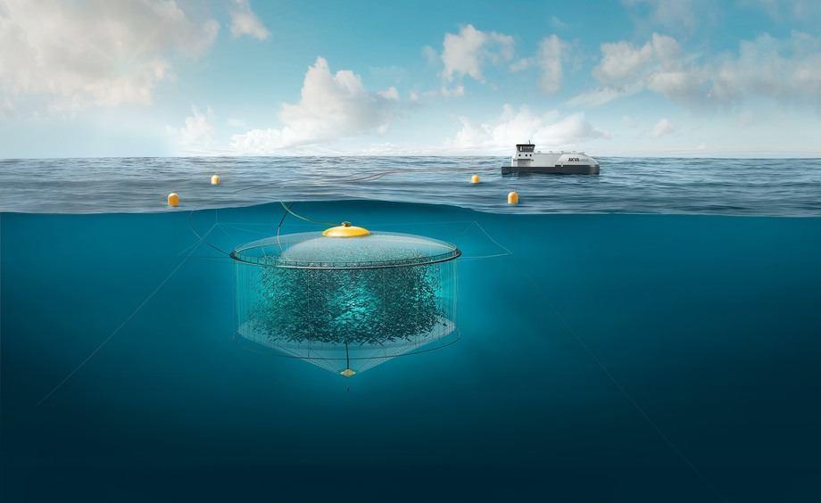 Atlantis Subsea Farming konseptet. Illustrasjon: Atlantis Subsea Farming.