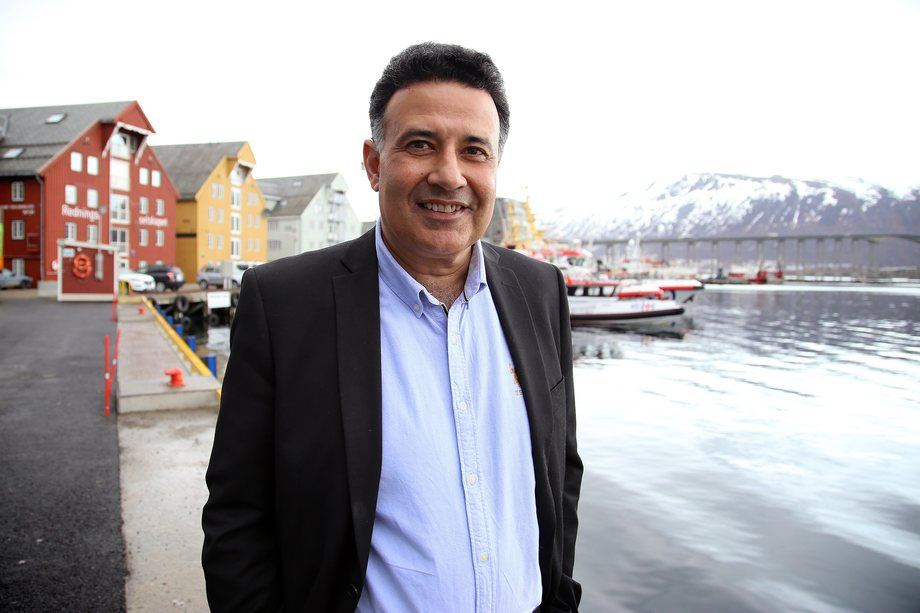 Yogi Shergill, prosjektleder i India. Foto: Andreas Ingebrigtsen/Sjømatrådet.