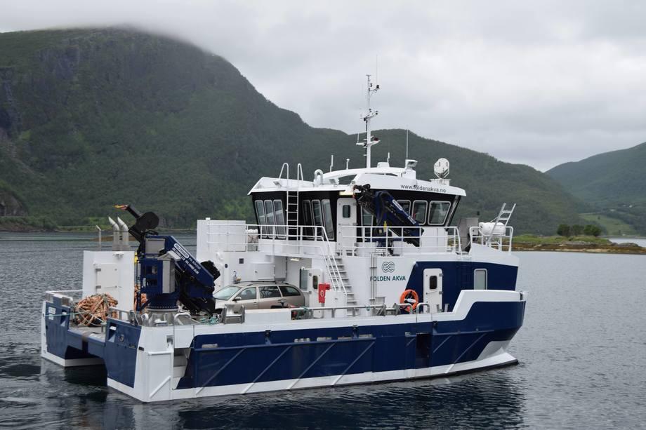 Byggenummer 143 skal leveres medio november 2017, og blir den femte båten Grovfjord Mek. Verksted leverer til Salaks. Foto: Grovfjord Mek. Verksted