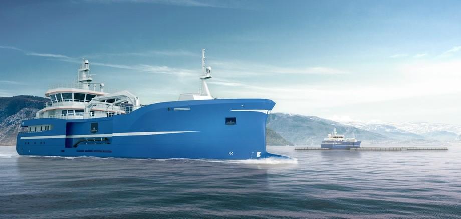 Den nye slaktebåten til Marine Harvest leveres med et såkalt «Stun & bleed-anlegg» der fisken effektivt blir avlivet og klargjort for videre prosessering ved merdkanten.