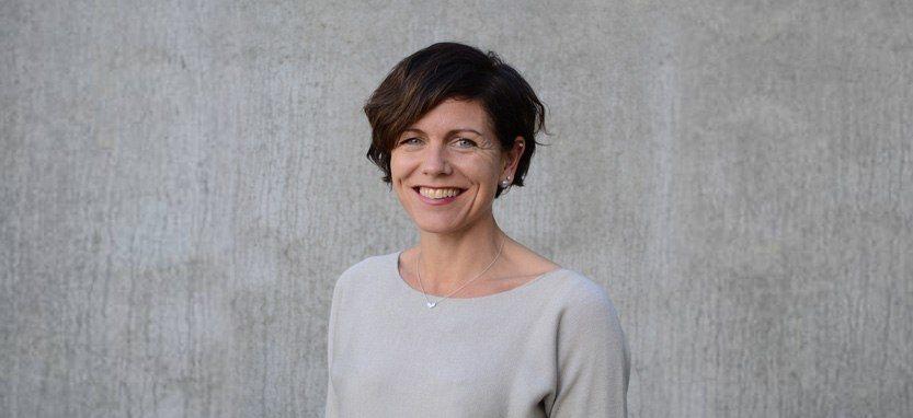 Evy Vikene er «Marketing Manager» for Skrettings globale laksedivisjon. Foto: Skretting.