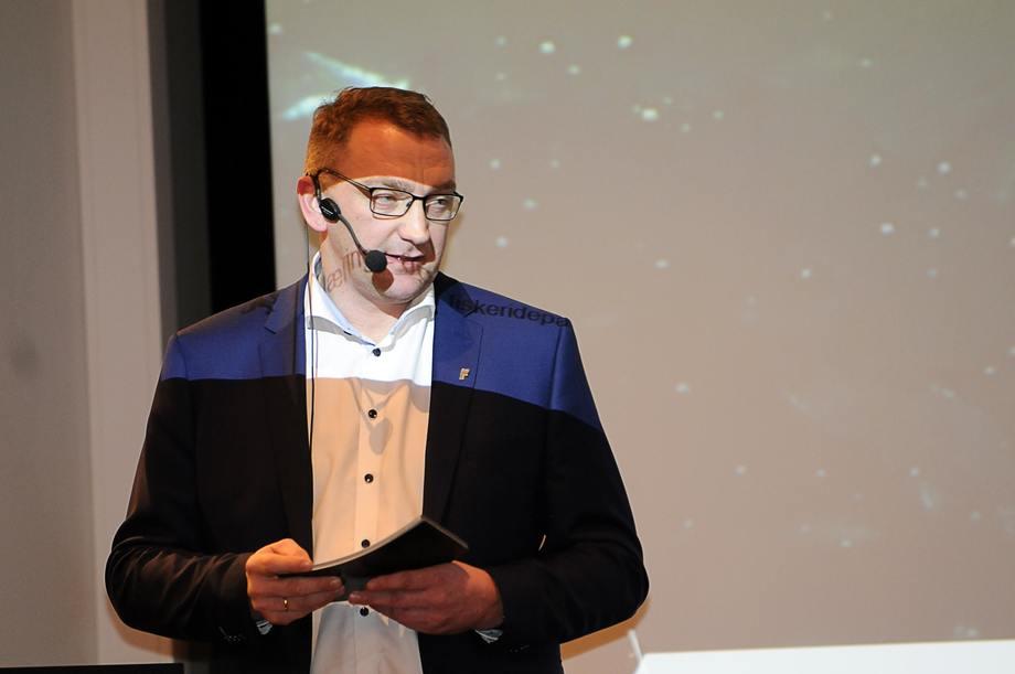 Statssekretær Roy Angelvik. Foto: Pål Mugaas Jensen.