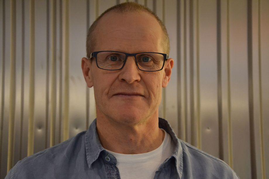 Erik Sterud fra Norske Lakseelver. Foto: Magnus Petersen.
