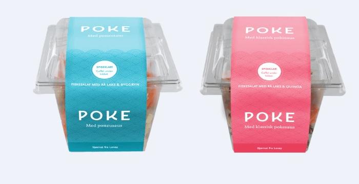 Poke - en ny type sjømat som erobrer verden. Nå lanseres det i Norge. Foto: Lerøy Seafood Group.