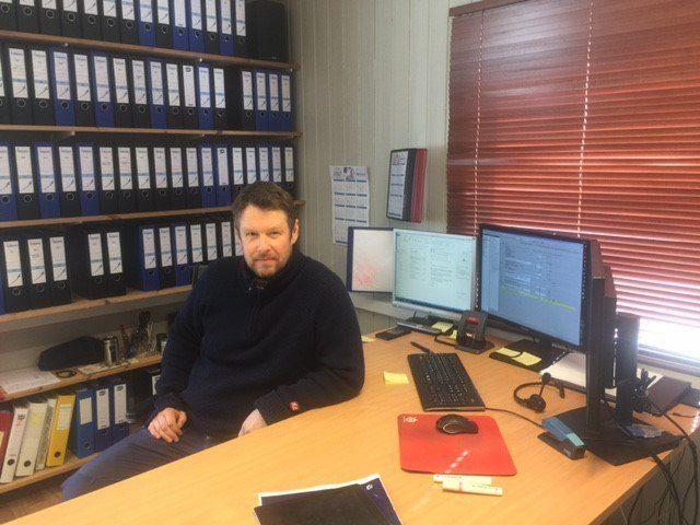 Veterinær Bjørn-Inge Rikhardsen er leder av Salmo Pharma. Foto: Salmo Pharma.