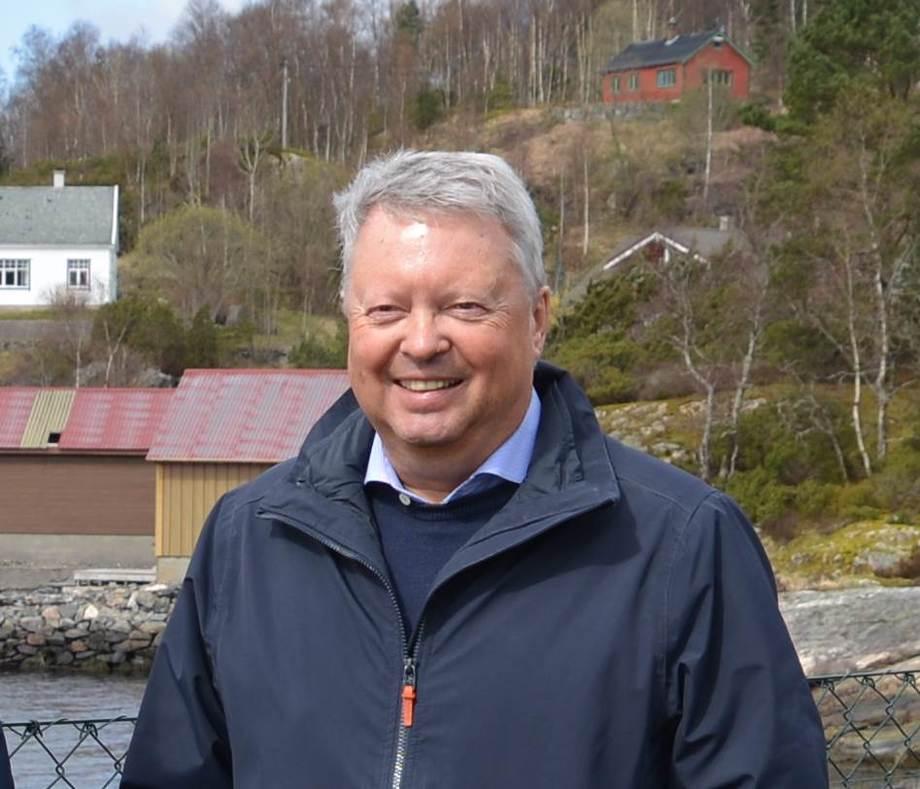Styreleiar i Seafarm Solutions, Hans Runshaug. Foto Seafarm Solutions.