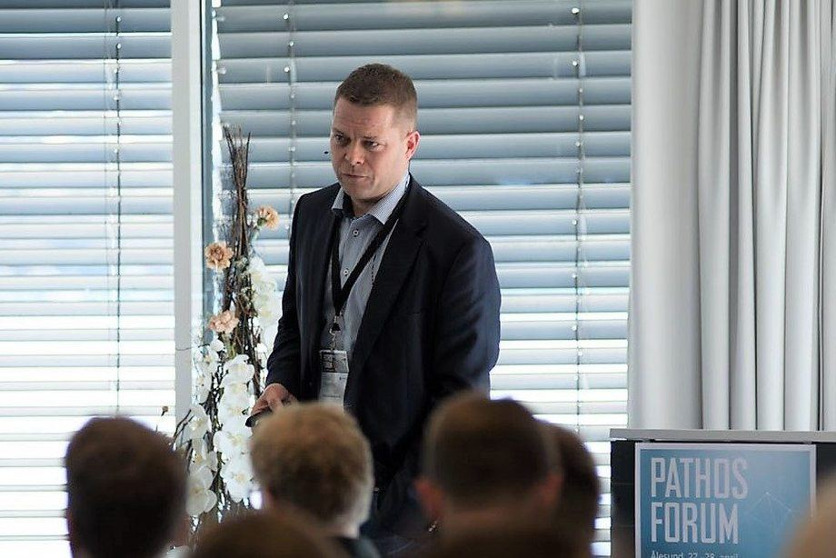 Vidar Aspehaug er «Chief of Business Development» og med-gründer av PatoGen. Foto: Patogen.