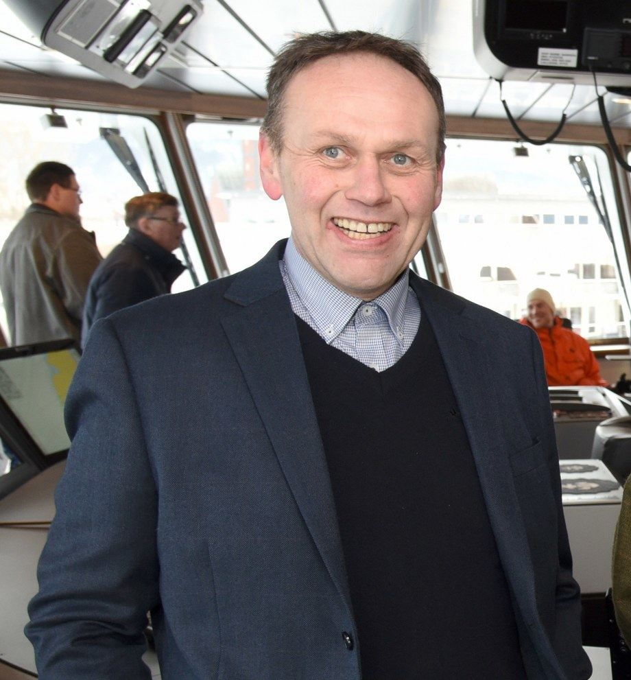 Harry Bøe, administrerende direktør i Norsk Fisketransport. Foto: Tom Lysø