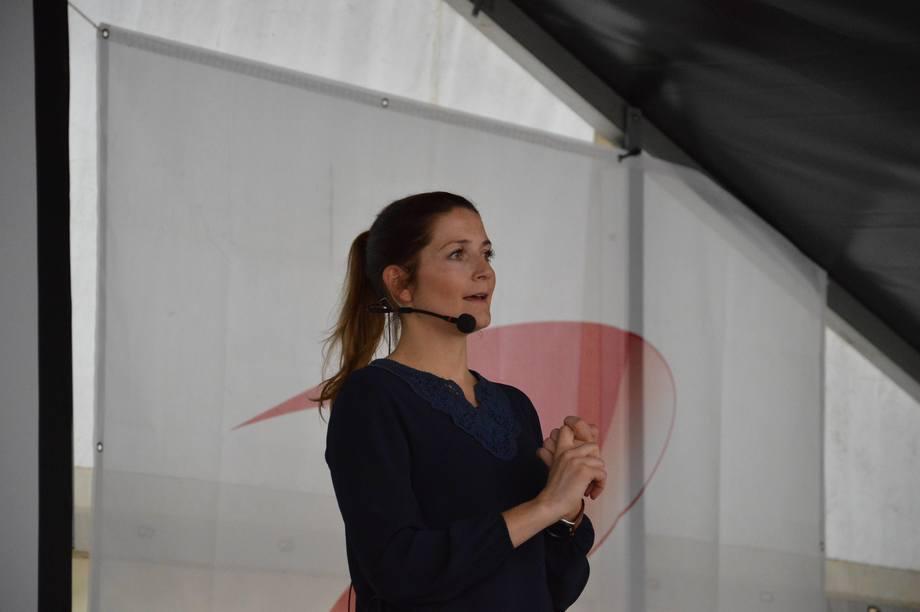 Karoline Skaar Amthor i Previwo. Foto: Magnus Petersen.