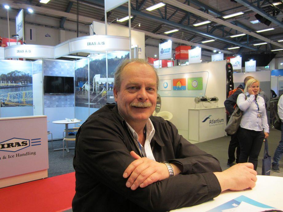 Berndt Wrege, daglig leder for Pharmaq Chile. Foto: Daniella Balin.