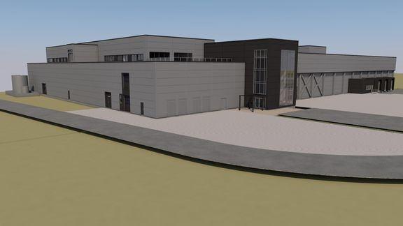 ABB leverer automatisering og elektro til pakkeriet på Cermaqs nye lakseslakteri i Steigen i Nordland (Ill. Cermaq)