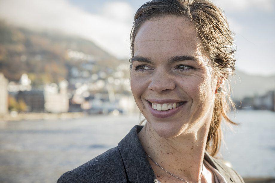 Lise Andreasen, senior produktsjef EWOS vekstfôr i Cargill Aqua Nutrition. Foto: Cargill.