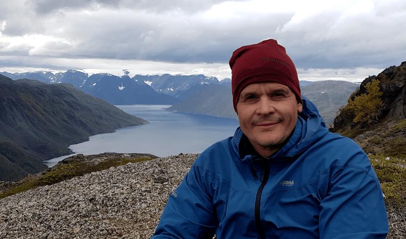 Roger Pedersen, samfunnskontakt i Grieg Seafood Finnmark. Foto: Grieg Finnmark.