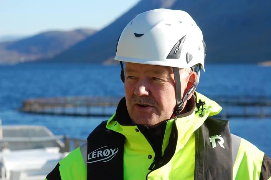 Stig Nilsen, konserleder for havbruk i Lerøy Seafood Group. Foto: Lerøy.