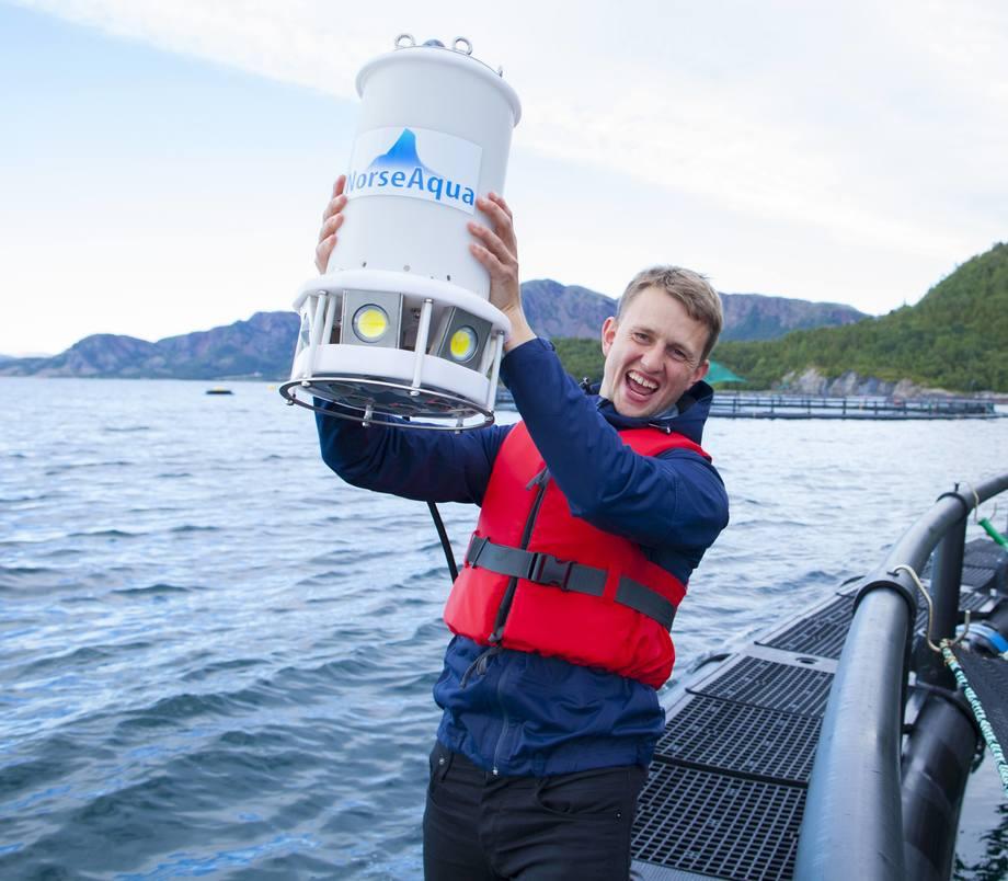 Poseidon D600-2 Lars Berg-Hansen og resten av NorseAqua har lyttet til tilbakemeldingene fra kundene. Resultatet er en ny og oppgradert utgave av lyskonseptet Poseidon. Foto: NorseAqua.