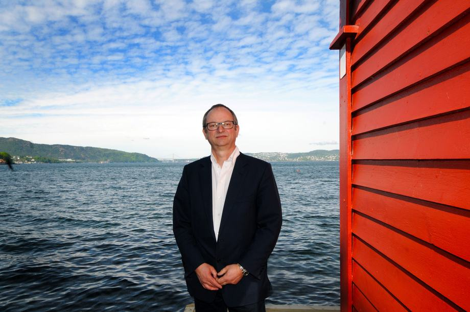 Malcolm Pye er adm dir i Benchmark. Foto: Pål Mugaas Jensen.