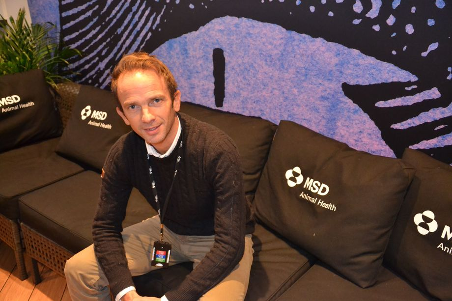 Dafydd Morris er andministrerende direktør i MSD Animal Health Norway. Foto: Linn Therese Skår Hosteland