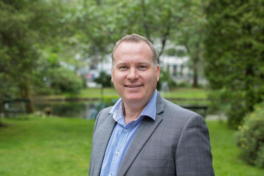 Anders Haugland, administrerende direktør i Bergen Teknologioverføring. Foto: BTO.