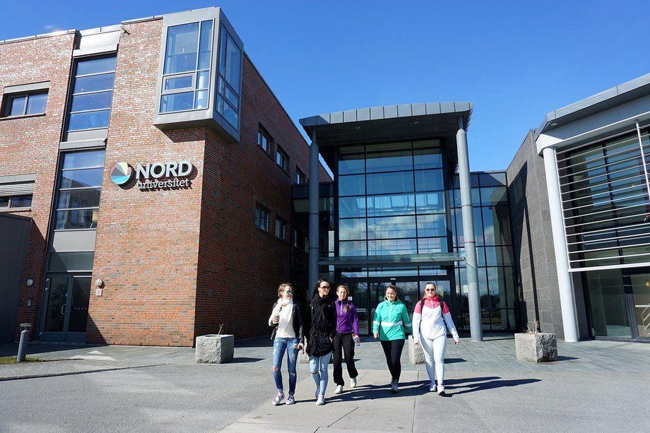 Nord universitet, opplever stadig økning i akvakulturfagene, her ser du et bilde fra campus i Bodø. Foto: Svein-Arnt Eriksen.