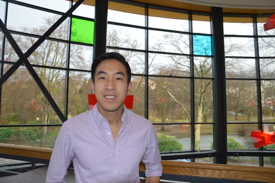 Bryton Shang, grunnlegger og daglig leder i AquaByte. Foto: Katarina Berthelsen.
