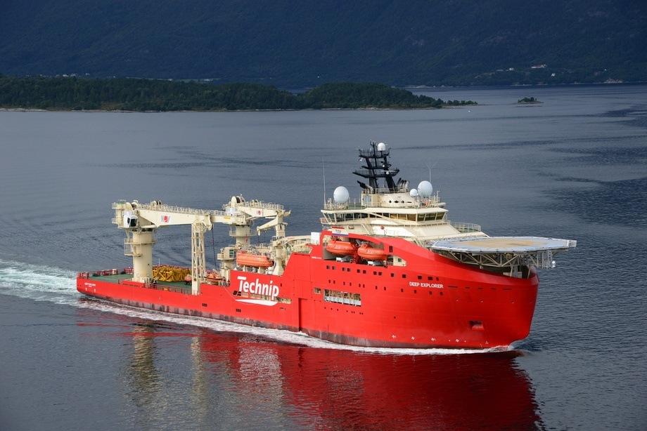 DSV «Deep Explorer» er bygget for de spesielt krevende forholden i Nordsjøen og Canada, og vil kunne opererer under selv ekstreme værforhold. Foto: Harald Valderhaug